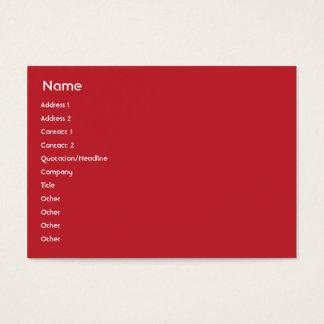 Cartes De Visite L'Indonésie - potelée