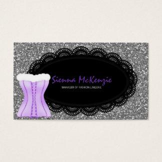 Cartes De Visite Lingerie de mode