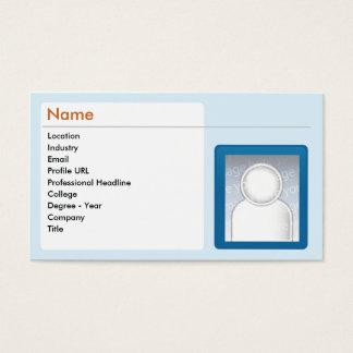 Cartes De Visite LinkedIn - affaires