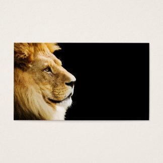 Cartes De Visite Lion