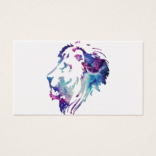 CARTES DE VISITE LION LIFE