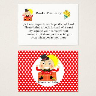 Cartes De Visite Livres mignons de comptine de Humpty Dumpty pour