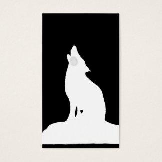 Cartes De Visite loup de nuit