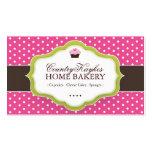 Cartes de visite lunatiques de boulangerie modèles de cartes de visite