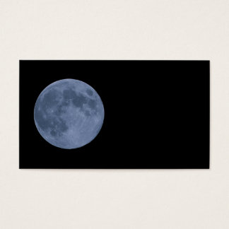 Cartes De Visite Lune bleue