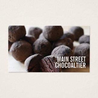 Cartes De Visite Magasin de Chocolatier de sucrerie de truffes de