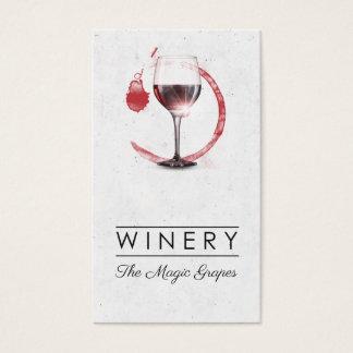 Cartes De Visite Magasin d'établissement vinicole