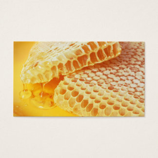 Cartes De Visite Magasin doux de vendeur de miel/de vendeur abeille