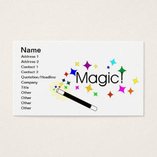 Cartes De Visite Magie