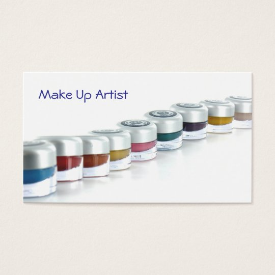 Cartes De Visite Make Up Artist