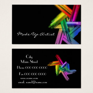 Cartes De Visite make_up_business
