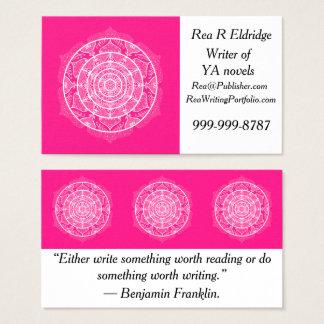 Cartes De Visite Mandala de digitale