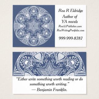 Cartes De Visite Mandala de nuit