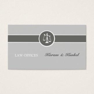 Cartes De Visite Mandataire simple neutre de Justice-Échelles de