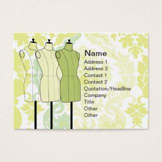 Cartes De Visite Manequins - potelé