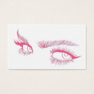 Cartes De Visite Maquilleur de yeux