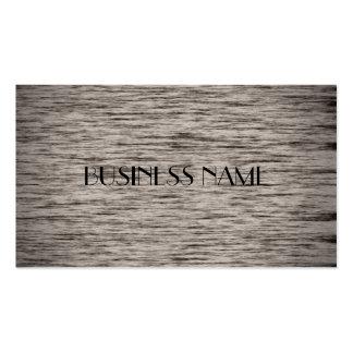 Cartes de visite matériels en bois gris modèle de carte de visite
