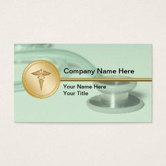 Cartes de visite médicaux