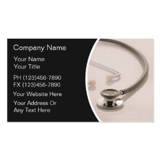Cartes de visite médicaux cartes de visite personnelles