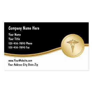 Cartes de visite médicaux modèle de carte de visite