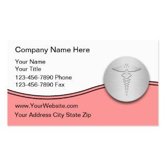 Cartes de visite médicaux cartes de visite professionnelles