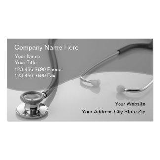Cartes de visite médicaux modèles de cartes de visite
