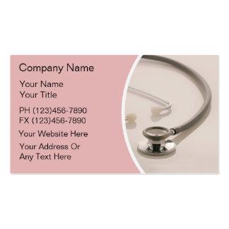 Cartes de visite médicaux carte de visite standard