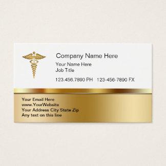 Cartes de visite médicaux chics