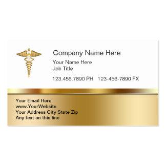 Cartes de visite médicaux chics carte de visite standard
