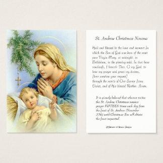 Cartes De Visite Mère Mary de Vierge et bébé Jésus