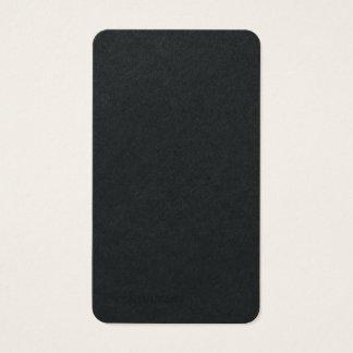 Cartes De Visite Minimaliste moderne à la mode simple noir de la