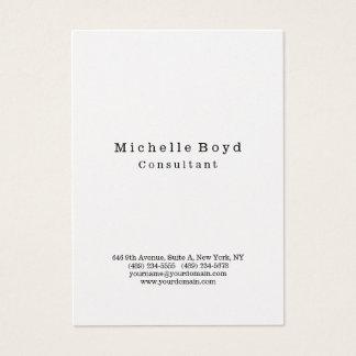Cartes De Visite Minimaliste moderne élégant professionnel original