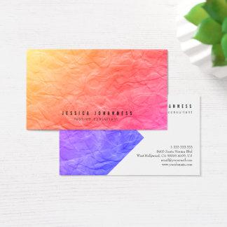Cartes de visite minimalistes - vieux papier