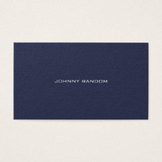 Cartes De Visite Moderne élégant minimal hyper