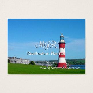 Cartes De Visite Monogramme, planificateur de destination, visites
