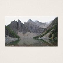 Cartes De Visite Lacs Montagne
