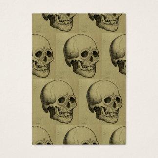 Cartes De Visite Motif de crâne de Halloween