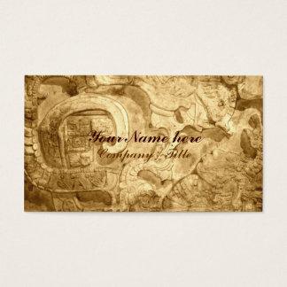 Cartes De Visite Motif de Maya