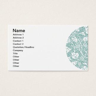 Cartes De Visite Motif vintage de raisin de papier peint floral