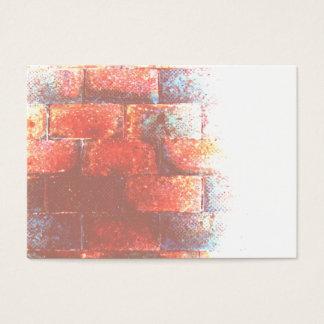 Cartes De Visite Mur de briques. Digitals art.