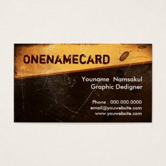Cartes De Visite namecard-008/vieux papier grunge