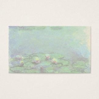 Cartes De Visite Nénuphars par Claude Monet, impressionisme vintage