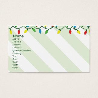 Cartes De Visite Noël - affaires