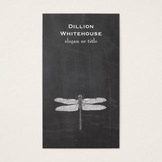 Cartes De Visite Noir vintage de nature gravure à l'eau-forte de