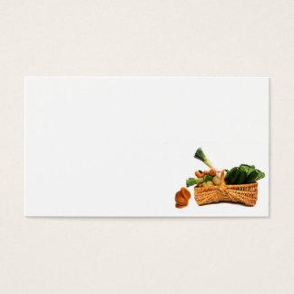 Cartes De Visite nourriture