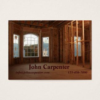 Cartes De Visite Nouvel en construction à la maison