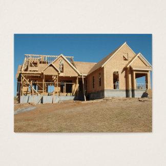 Cartes De Visite nouvelle construction à la maison