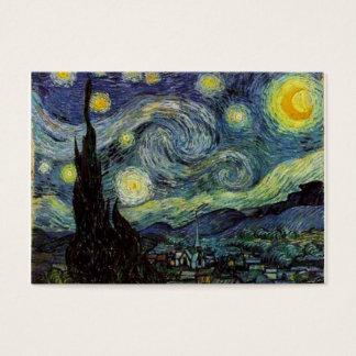 Cartes De Visite Nuit étoilée par Van Gogh