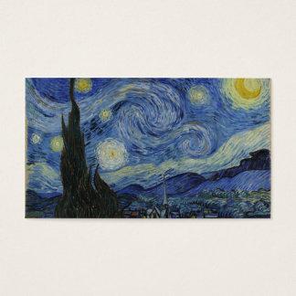Cartes De Visite Nuit étoilée Van Gogh