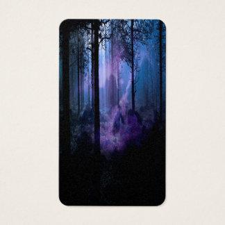 Cartes De Visite Nuit mystique